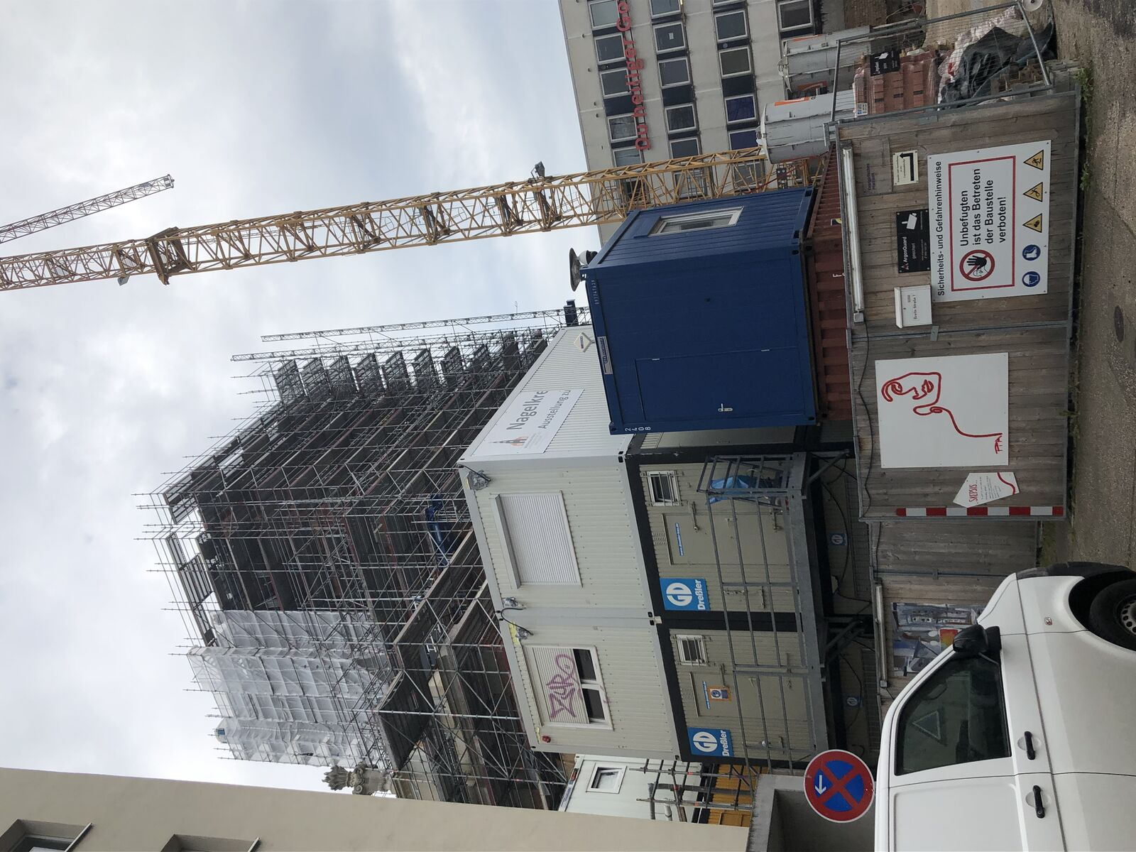 Garnisonkirche 2021: Turm im Werden